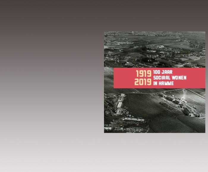 Brochure 100 jaar Sociaal Wonen in Hamme - cover