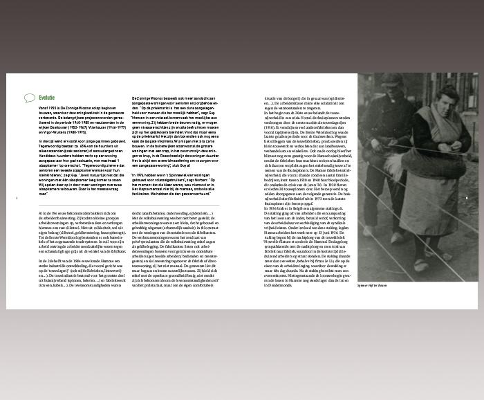Brochure 100 jaar Sociaal Wonen in Hamme - spread 6