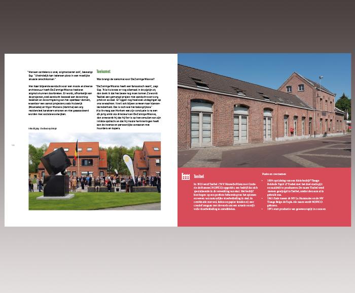 Brochure 100 jaar Sociaal Wonen in Hamme - spread 9