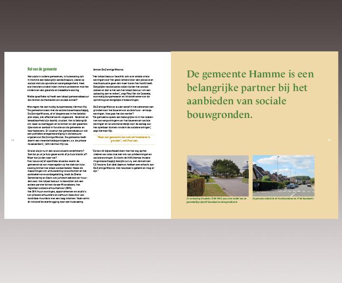 Brochure 100 jaar Sociaal Wonen in Hamme - spread 11